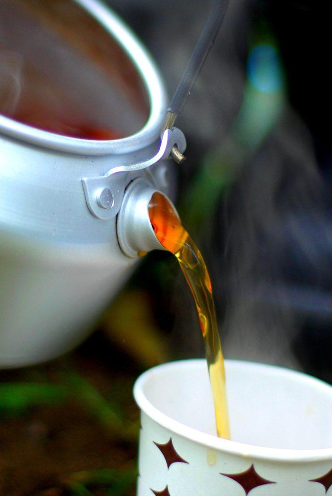 Drink green tea regularly